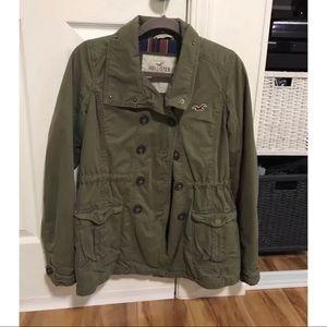 Hollister co Olive jacket